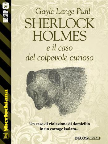 Sherlock Holmes e il caso del colpevole curioso (copertina)