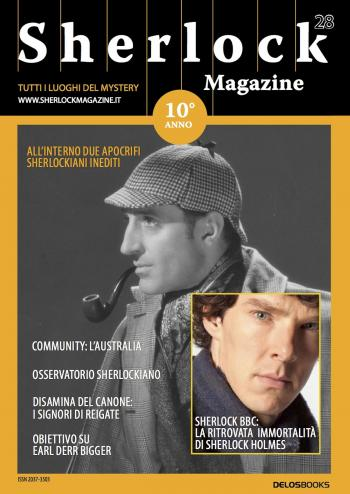 Sherlock Magazine 28 (copertina)