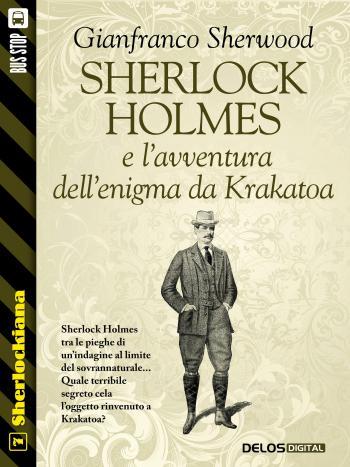 Sherlock Holmes e l'avventura dell'enigma da Krakatoa (copertina)