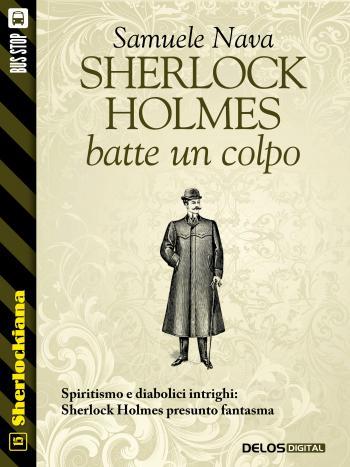 Sherlock Holmes batte un colpo (copertina)