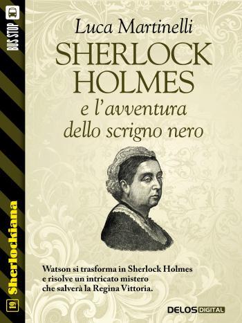 Sherlock Holmes e l'avventura dello scrigno nero (copertina)