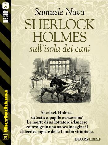 Sherlock Holmes sull'isola dei cani (copertina)