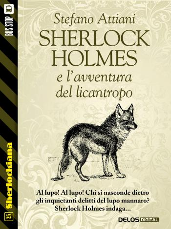 Sherlock Holmes e l'avventura del licantropo (copertina)
