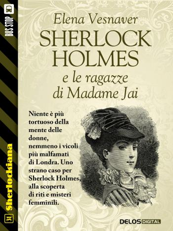 Sherlock Holmes e le ragazze di Madame Jai (copertina)