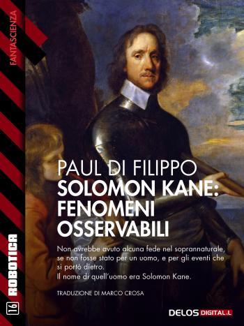 Solomon Kane: Fenomeni osservabili (copertina)