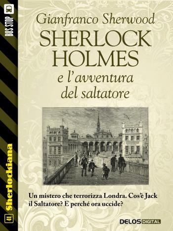 Sherlock Holmes e l'avventura del saltatore (copertina)