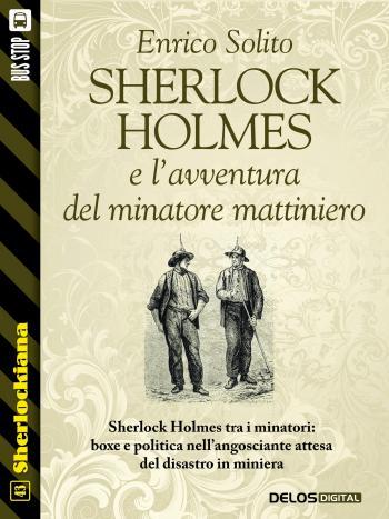 Sherlock Holmes e l'avventura del minatore mattiniero (copertina)