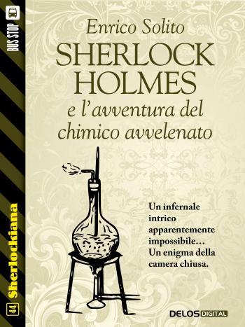 Sherlock Holmes e l'avventura del chimico avvelenato (copertina)