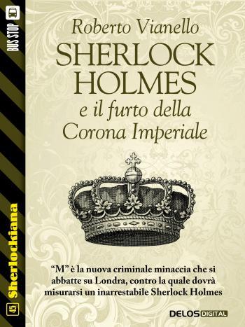 Sherlock Holmes e il furto della Corona Imperiale (copertina)