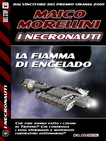La fiamma di Encelado (copertina)