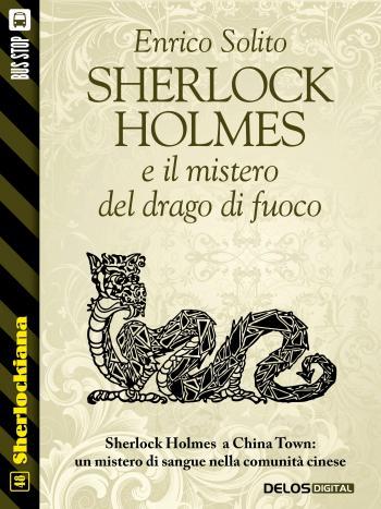 Sherlock Holmes e Il mistero del drago di fuoco (copertina)