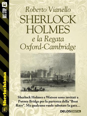Sherlock Holmes e la Regata Oxford-Cambridge (copertina)