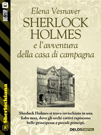 Sherlock Holmes e l'avventura della casa di campagna (copertina)