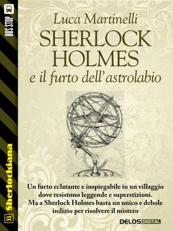 Sherlock Holmes e il furto dell'astrolabio (copertina)