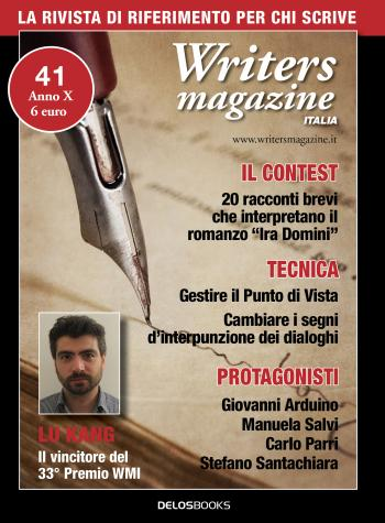 Writers Magazine Italia 41 (copertina)