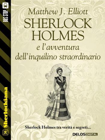 Sherlock Holmes e l'avventura dell'inquilino straordinario (copertina)