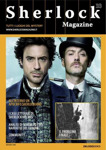 Sherlock Magazine 33 (copertina)