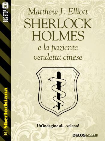 Sherlock Holmes e la paziente vendetta cinese (copertina)