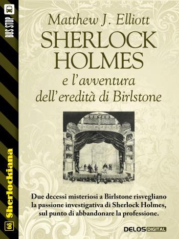 Sherlock Holmes e l'avventura dell'eredità di Birlstone (copertina)