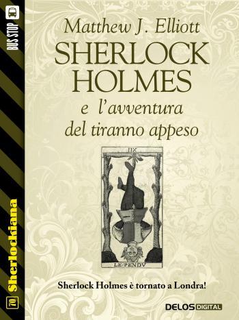 Sherlock Holmes e l'avventura del tiranno appeso (copertina)