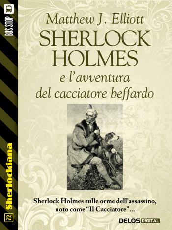 Sherlock Holmes e l'avventura del cacciatore beffardo (copertina)