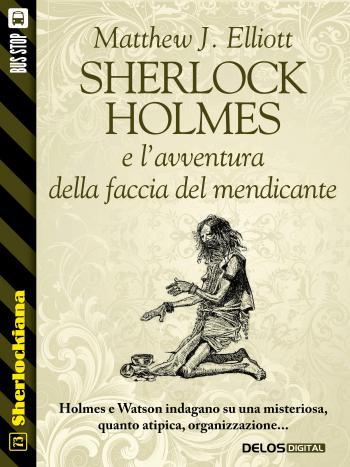 Sherlock Holmes e l'avventura della faccia del mendicante (copertina)