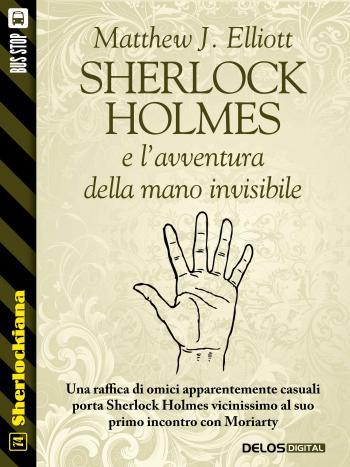 Sherlock Holmes e l'avventura della mano invisibile (copertina)