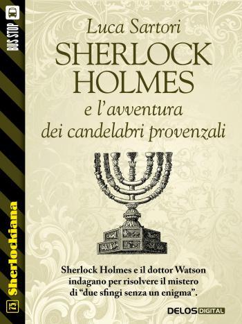 Sherlock Holmes e l'avventura dei candelabri provenzali (copertina)