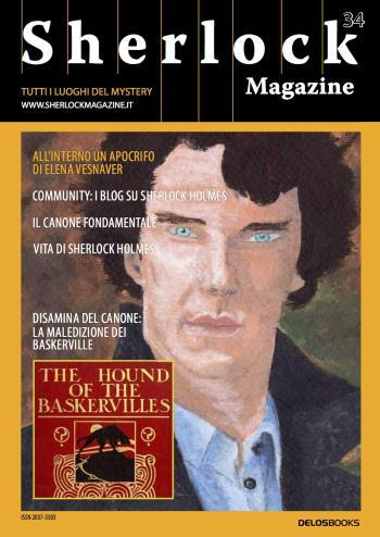 Sherlock Magazine 34 (copertina)