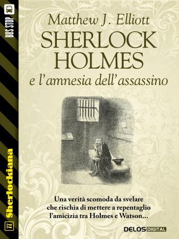 Sherlock Holmes e l'amnesia dell'assassino (copertina)