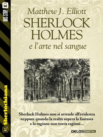 Sherlock Holmes e l'arte nel sangue (copertina)