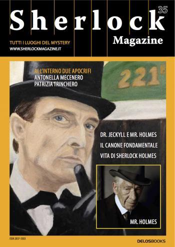 Sherlock Magazine 35 (copertina)
