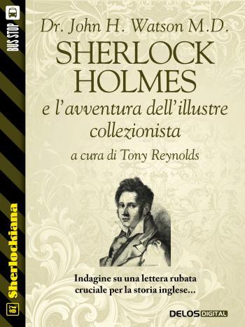 Sherlock Holmes e l'avventura dell'illustre collezionista (copertina)