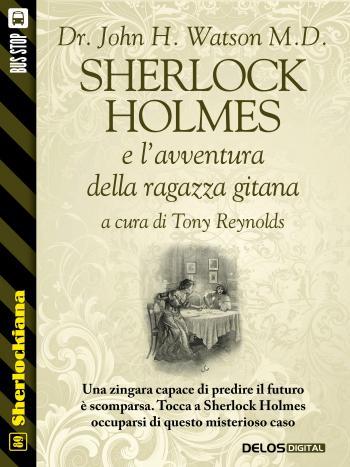 Sherlock Holmes e l'avventura della ragazza gitana (copertina)