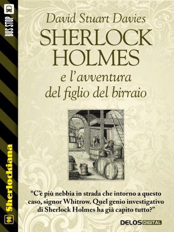 Sherlock Holmes e l'avventura del figlio del birraio (copertina)